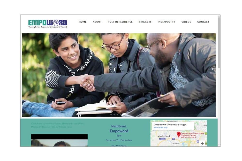 Screenshot of Stmarys-Slough.org.uk