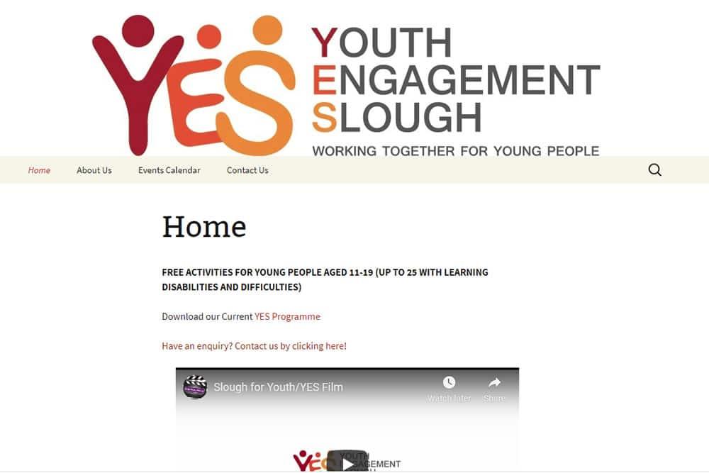 Screenshot of yesslough.org.uk